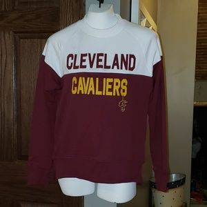 NBA Cleveland Cavaliers Womens Pullover Top Small